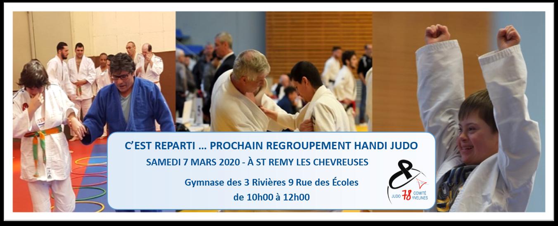 Handi judo regroupement