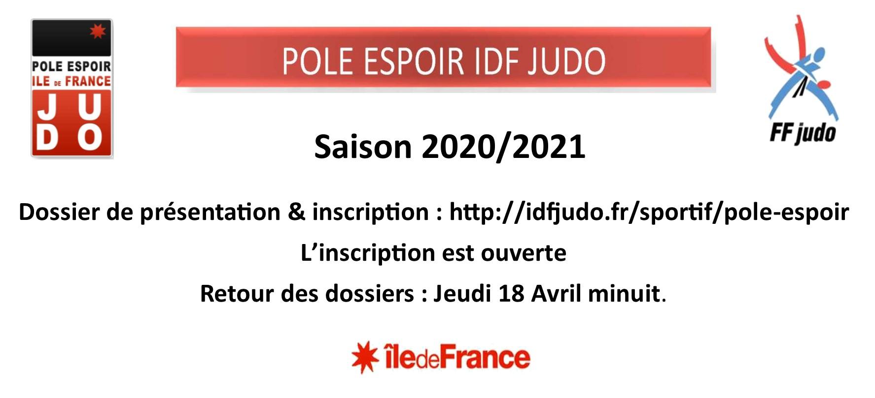 Pôle Espoir IDF B 2020-2021